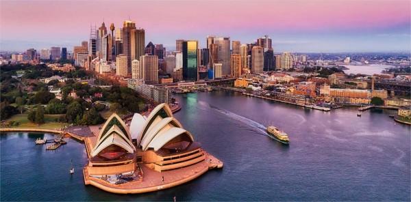 Quelle phrase à propos de Sydney