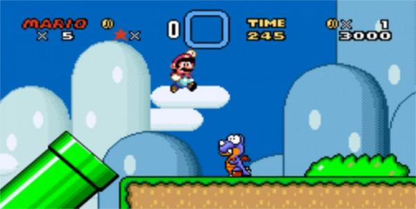 Et plus particulièrement à Super Mario