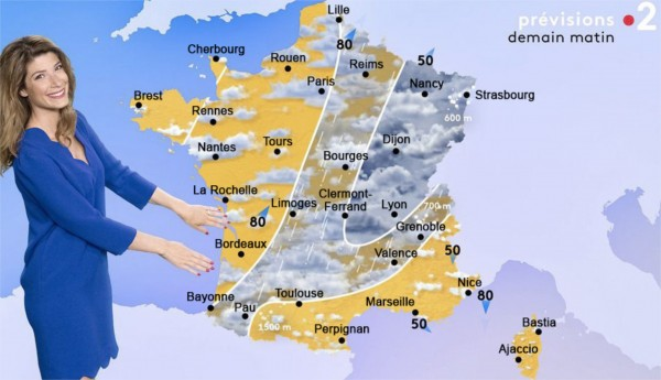Demain la météo à Marseille annonce :