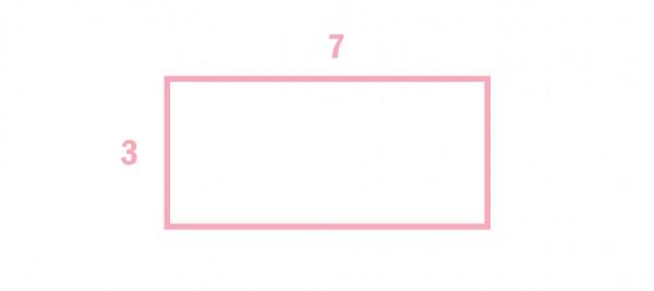 Quelle est l'aire de ce rectangle ?