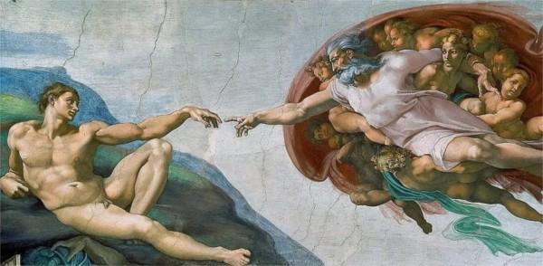"""Qui a peint """"La création d'Adam"""" ?"""