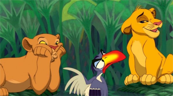 Le Roi Lion. À la fin :