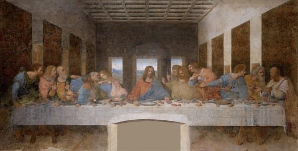 """Qui a peint """"La cène"""" ?"""