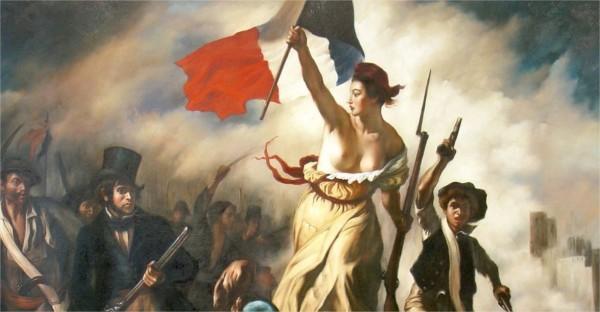 """Qui a peint """"La Liberté guidant"""