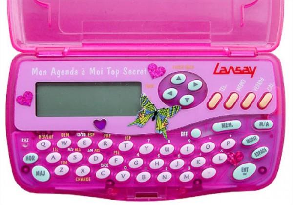 Écrivais-tu tout dans ton agenda électronique ?