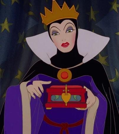 Tu es la méchante reine dans